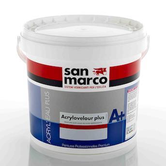 Краска для стен San Marco ACRYLOVELOUR